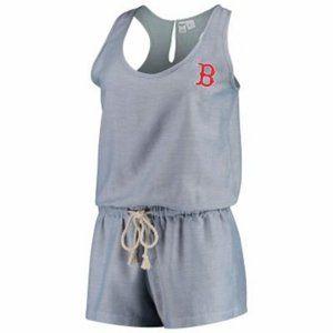 Concept Sports Boston Red Sox Sleepwear Romper Med